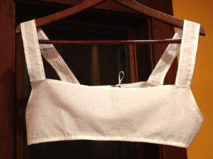 Bodiced Petticoat Front